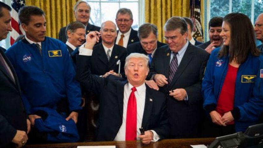 ترامب يحذر«ناسا» من رحلات سياحية إلى القمر