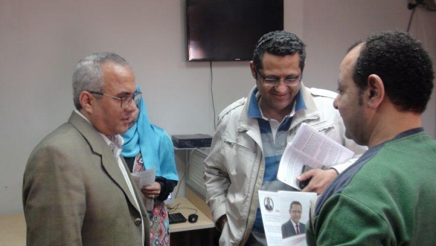 البلشي عن «عادل صبري»: الصحفيون المحبوسون لهم حقوق ودور النقابة لن يكون شكليًا