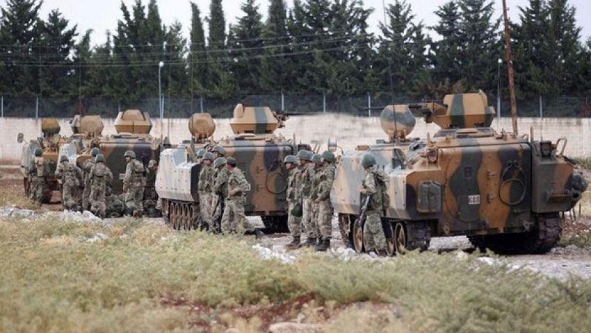 نشر دبابات تركية على الحدود مع سوريا