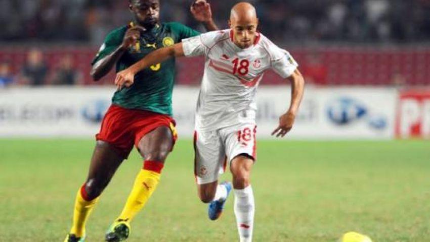 تونس تتحدى الكاميرون على تذكرة المونديال