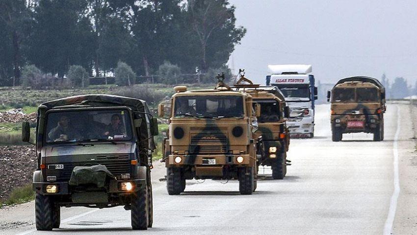 فيديو| في معلومات.. تركيا تحشد قوتها العسكرية في هذه المنطقة