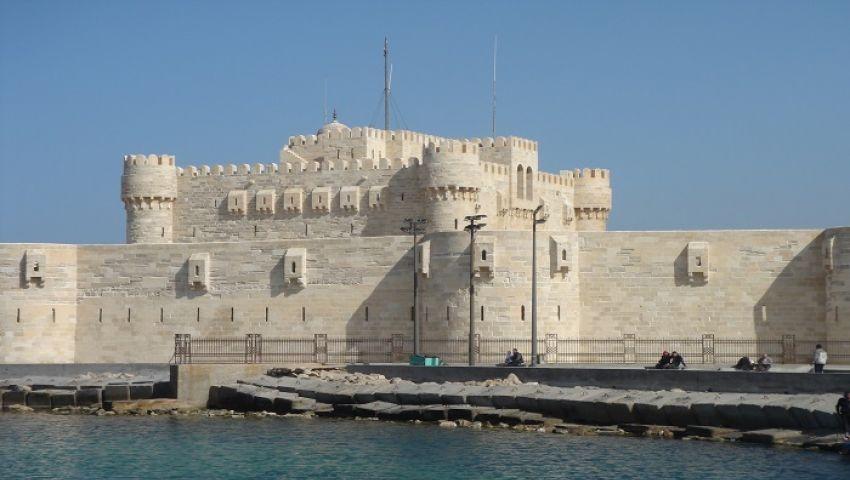 بالصور.. قلعة قايتباي تحتضن احتفالية العيد القومي للإسكندرية