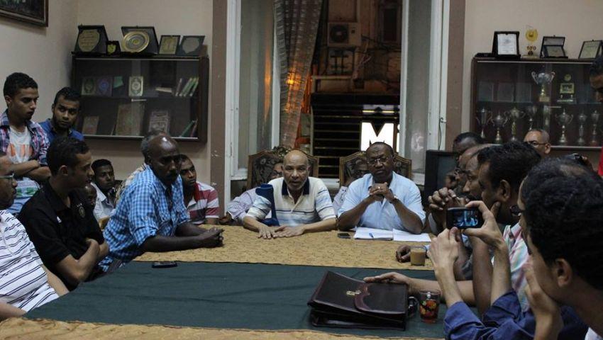 النادي النوبي يطالب الشباب بضبط النفس