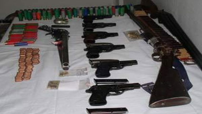 فيديو.. ضبط 181 سلاحًا بالغربية