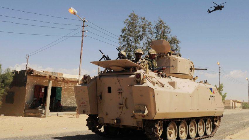القوات المسلحة: مقتل 46 إرهابيًا وتدمير 15 وكرًا في سيناء
