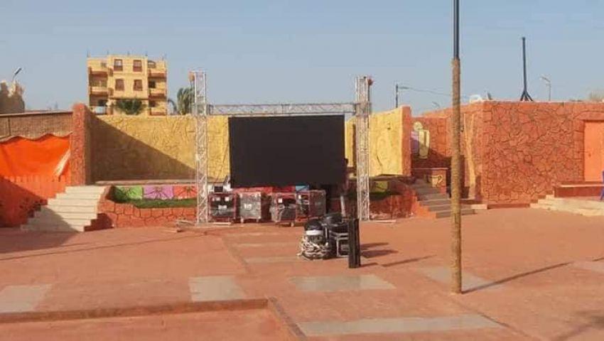 بشاشات عرض عملاقة.. هكذا استعدتشمال سيناء لمتابعة أمم أفريقيا (صور)