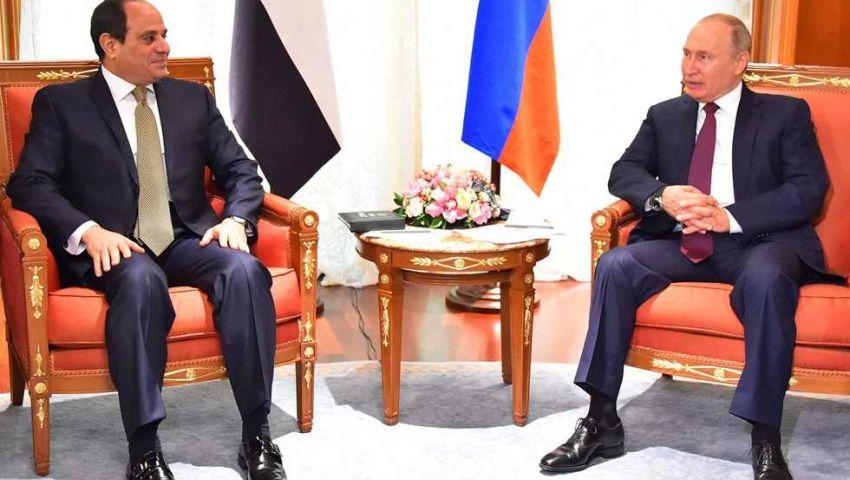 السيسي يصل إلى سوتشي لرئاسة القمة الإفريقية الروسية
