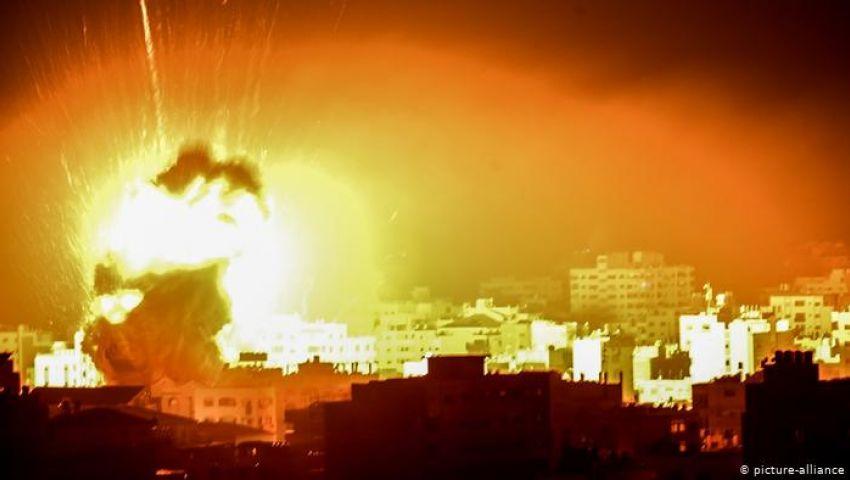 فيديو| قطاع غزة.. أجواء حرب وبيانات تهدئة