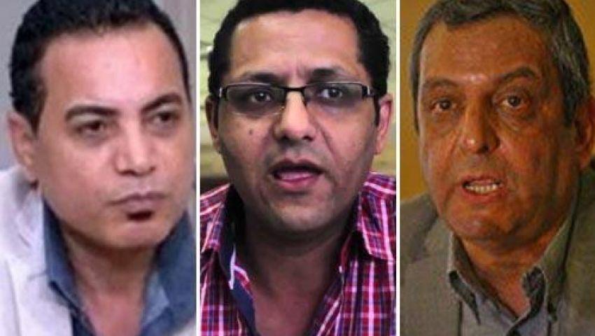 توافد الصحفيين على النقابة للتضامن مع قلاش