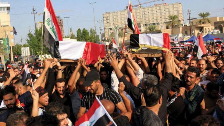 تواصل احتجاجات بغداد.. ثلاثة قتلى وأكثر من 150 مصابًا