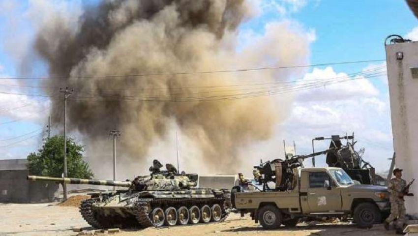 معارك طرابلس.. هدوء حذر بعد قصف جوي عنيف