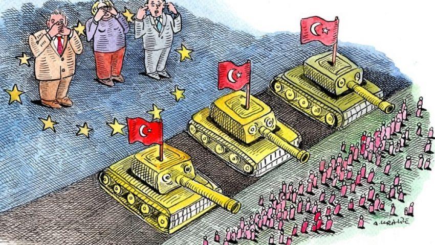 جارديان: بأعين عمي وآذان صم .. أوروبا تواجه العملية التركية في سوريا