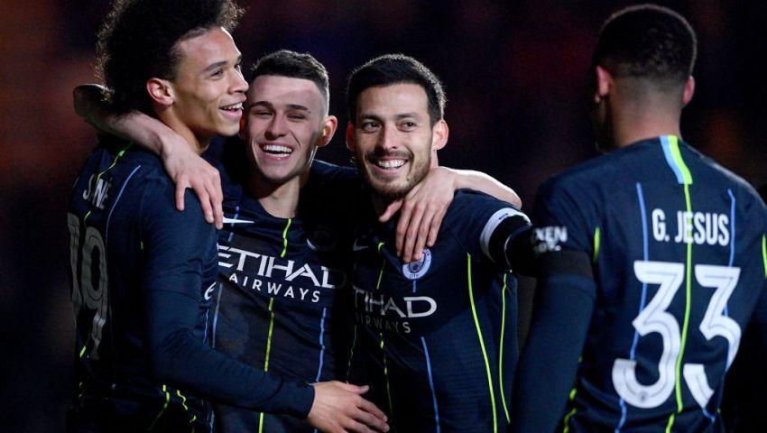بالفيديو|مان سيتي إلى ربع نهائي كأس الاتحاد الإنجليزي