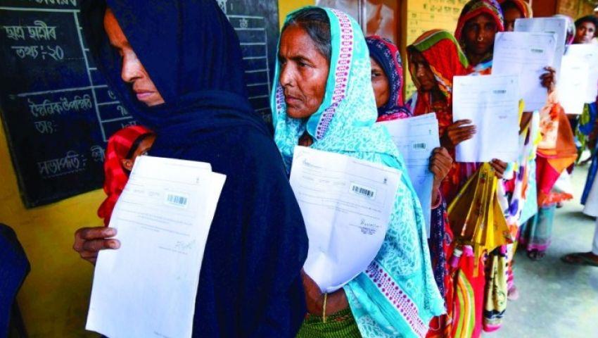 ضمن حملة تثبيت الجنسية.. شطب مليوني شخص من سجلات المواطنين بالهند