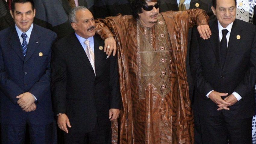 من «بن علي» لـ«صالح».. هذا مصير طغاة الربيع العربي الـ 4
