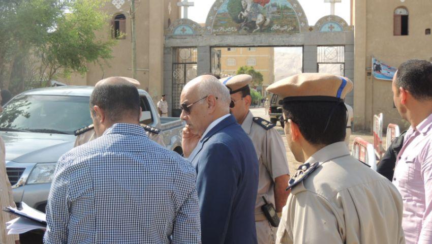محافظ قنا يدين انفجار كنيسة مارجرجس بطنطا