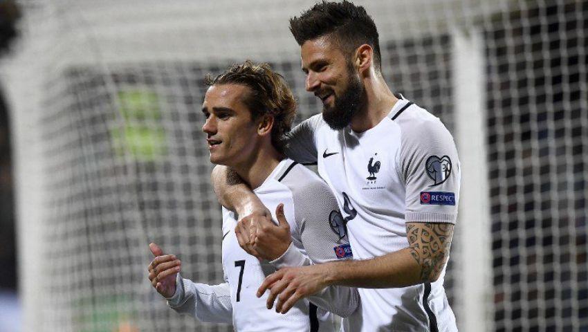 هزيمة هولندا أمام بلغاريا وفوز فرنسا على لوكسمبرج في تصفيات المونديال