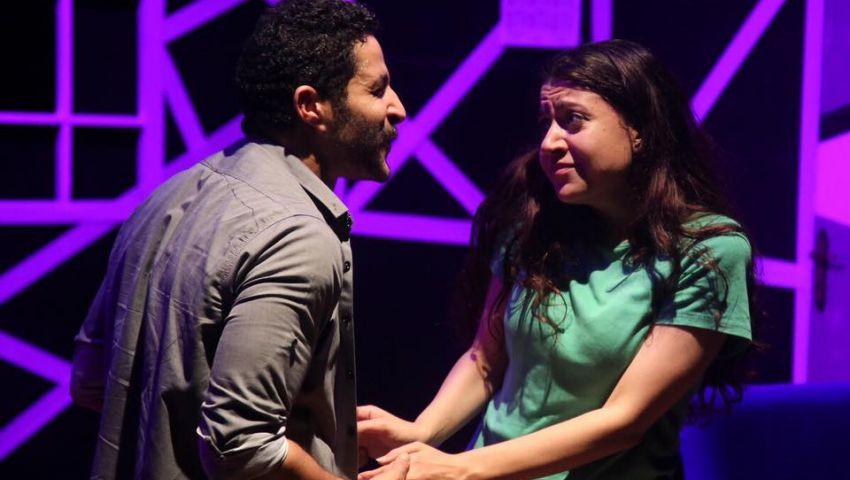 بالصور| « الحادثة» عرض يجذب الجمهور بالمهرجان القومي للمسرح