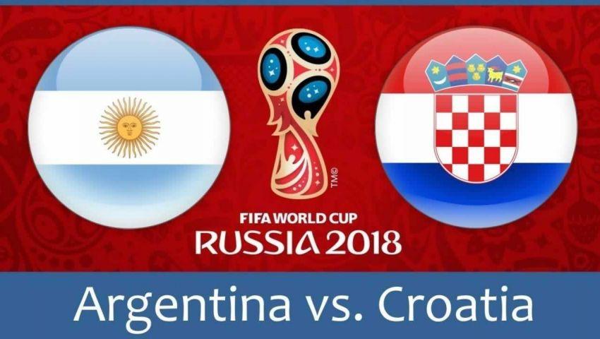 إنفوجراف| مباريات اليوم الثامن في المونديال.. الأرجنتين vs  كرواتيا