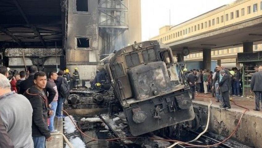 آلاف المقدسيون يصلون الغائب على ضحايا حادث محطة مصر بالأقصى
