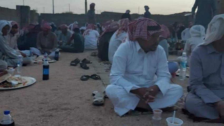 صور| الرحمات ووقف الخطبة والقضاء.. عادات رمضانية بجنوب سيناء