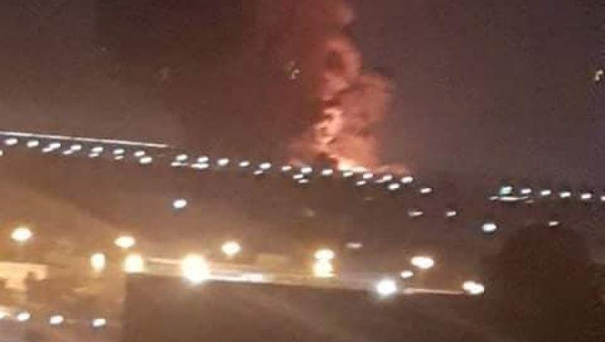 رغم وقوعه منذ ساعات.. انفجار مصنع «بتروكيماويات» قرب مطار القاهرة يهز «السوشيال ميديا»