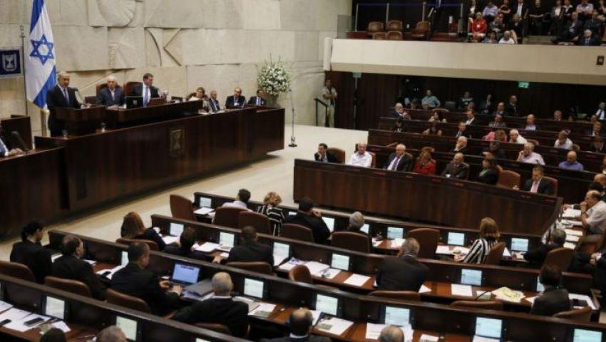 إحالة مشروع قانون حل الكنيست للتصويت بالقراءتين الثانية والثالثة
