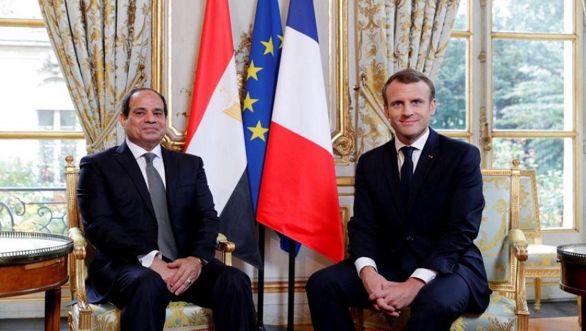بعد ختام زيارة ماكرون.. هذه جملة الاتفاقات الاقتصادية بين مصر وفرنسا