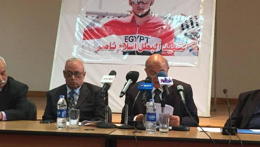 رئيس اتحاد الدراجات: حلمت مرتين بوفاة إسلام ناصر