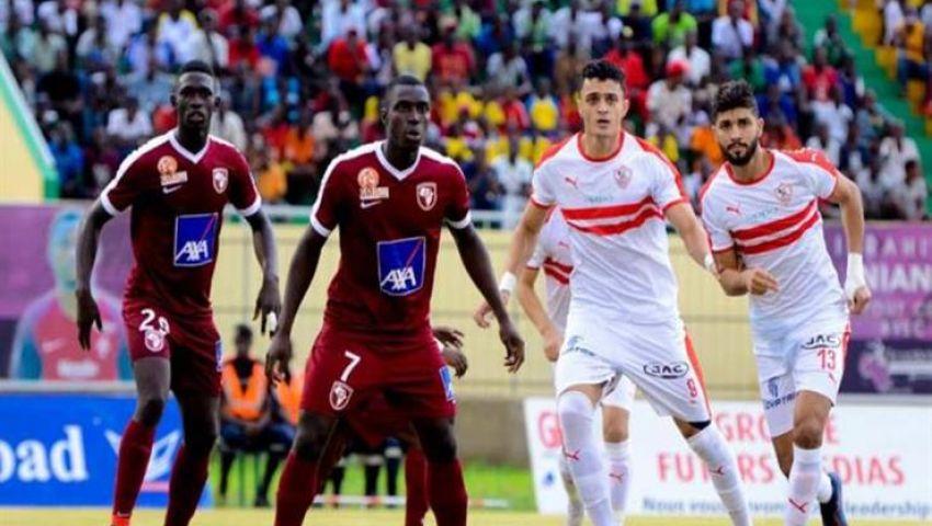 جماهير الزمالك يؤازرون فريقهم رغم الهزيمة أمام جينيراسيون فوت بدوري الأبطال