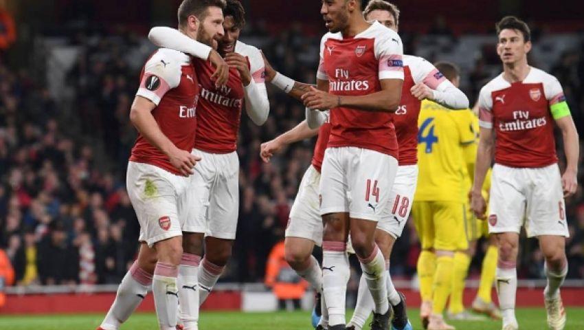 فيديو| أرسنال يقتحم المربع الذهبي في الدوري الإنجليزي