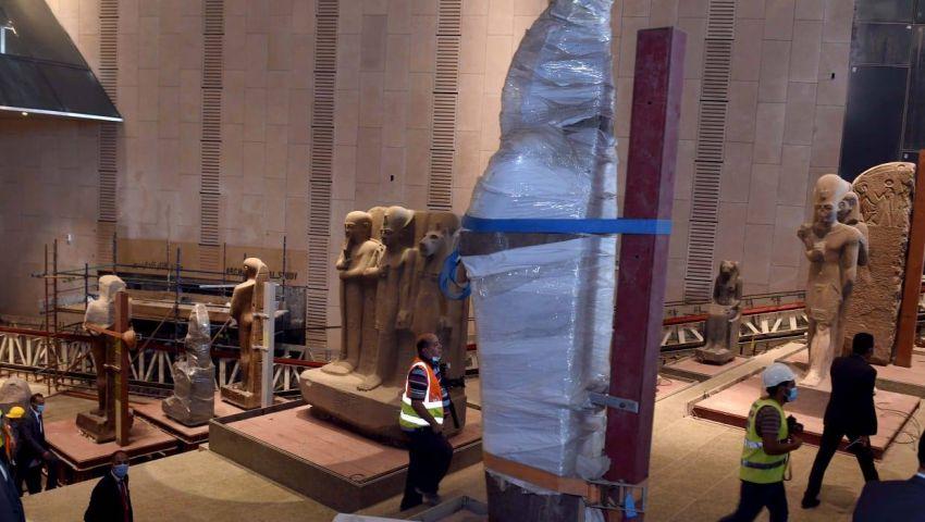 بالصور| كل ما تريد معرفته عن المتحف المصري الكبير