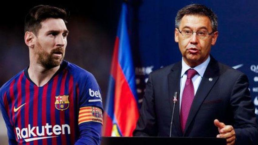 رئيس برشلونة: ميسي سيبقى معنا لسنوات عديدة