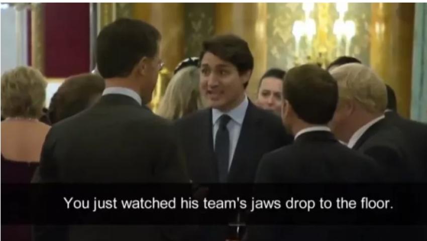 فيديو| القصة الكاملة لسخرية رئيس وزراء كندا من ترامب