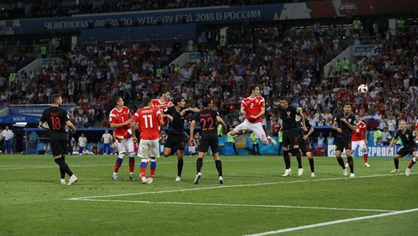 على «تويتر».. فرحة عارمة بتوديع روسيا للمونديال وتأهل كرواتيا لـ «نصف النهائي»