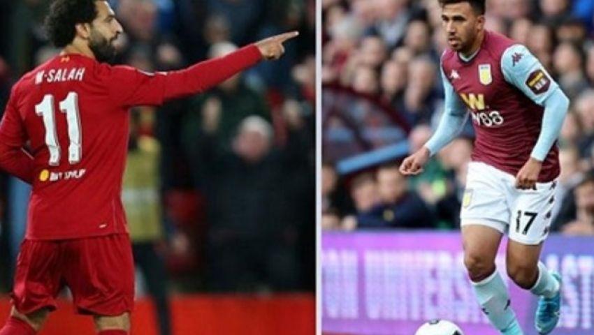 ليفربول vs أستون فيلا.. المواعيد والقنوات الناقلة لمباريات السبت