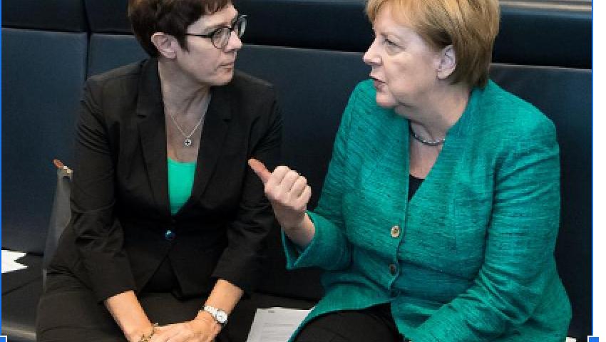 مجلة ألمانية تكشف كواليس الصراع بين ميركل وخليفتها