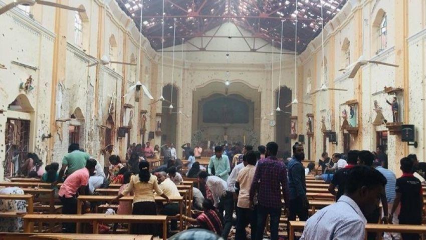 فيديو| تفجيرات سريلانكا.. ارتفاع عدد الضحايا لـ 215 قتيلًا وضبط 7 مشتبهين