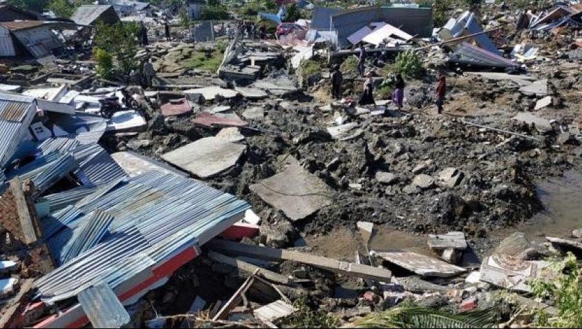 بدون سقوط ضحايا.. زلزال بقوة 5.8 درجات يضرب إندونيسيا