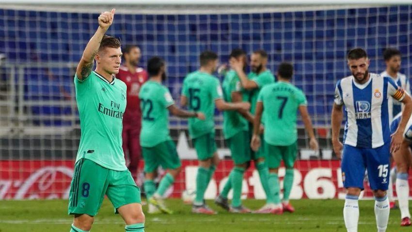 فيديو وصور| ريال مدريد يهزم إسبانيول بصعوبة.. ويبتعد بصدارة «الليجا»