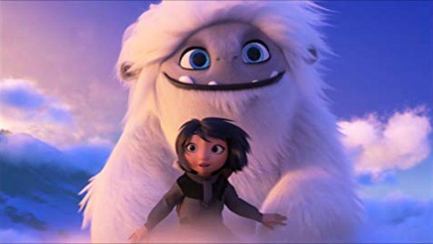 «Abominable» يجمع 107 ملايين دولار.. ويحتل هذا المركز