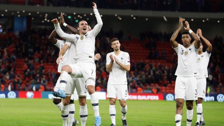 فيديو| تصفيات يورو 2020.. جريزمان يقود فرنسا لاجتياز ألبانيا