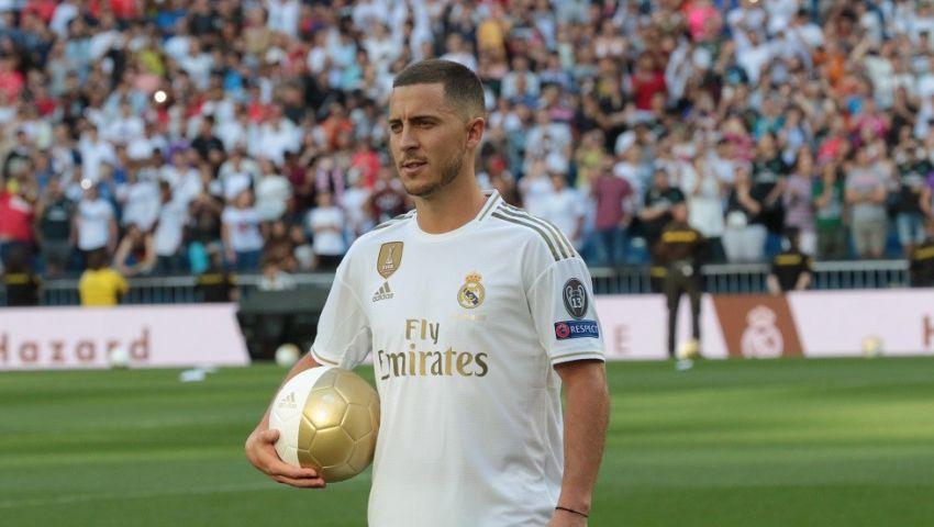 هازارد يستقر على رقم قميصه في ريال مدريد.. ليس 7 أو 10