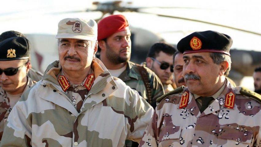 قطع الإمداد.. هل يُفشل عملية حفتر العسكرية في ليبيا؟