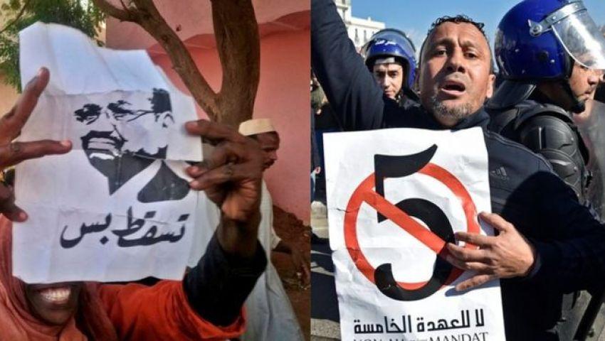 «حراك الجزائر» يلهم «مواكب السودان».. هل يسلم البشير السلطة للجيش؟