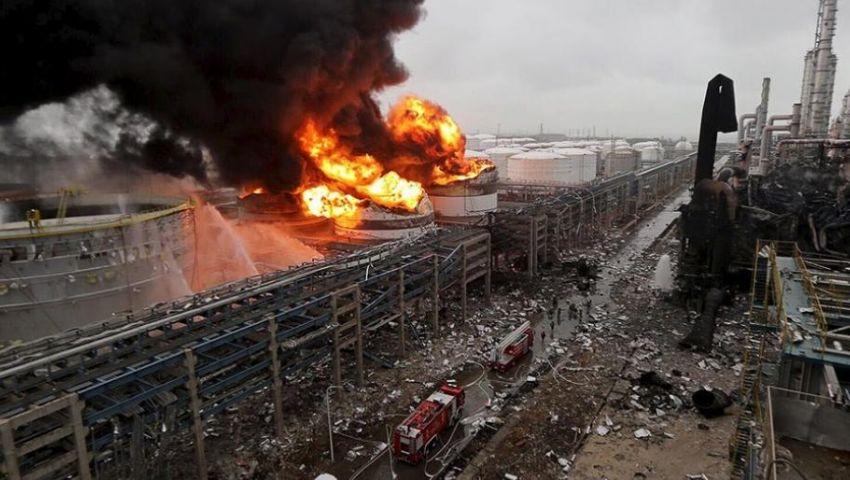 64 قتيلا.. آخر حصيلة لضحايا انفجار مصنع كيماويات بالصين