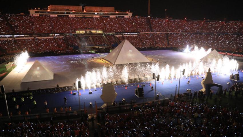 فيديو وصور| حفل افتتاح بطولة الأمم الأفريقية مصر 2019