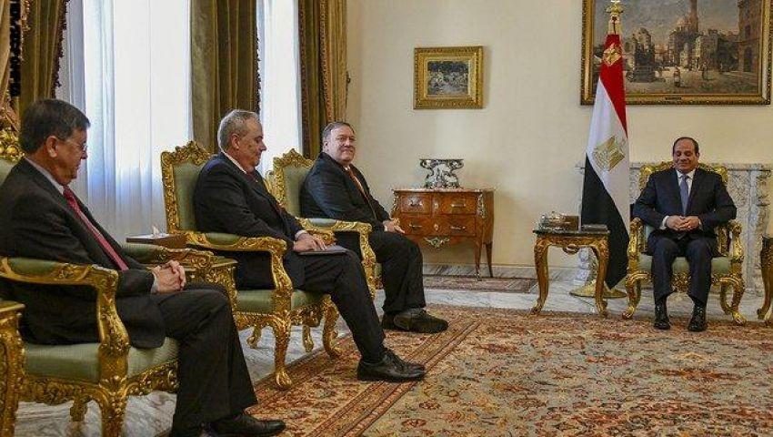 صوت أمريكا تكشف السبب الحقيقي  لزيارة بومبيو لـ مصر