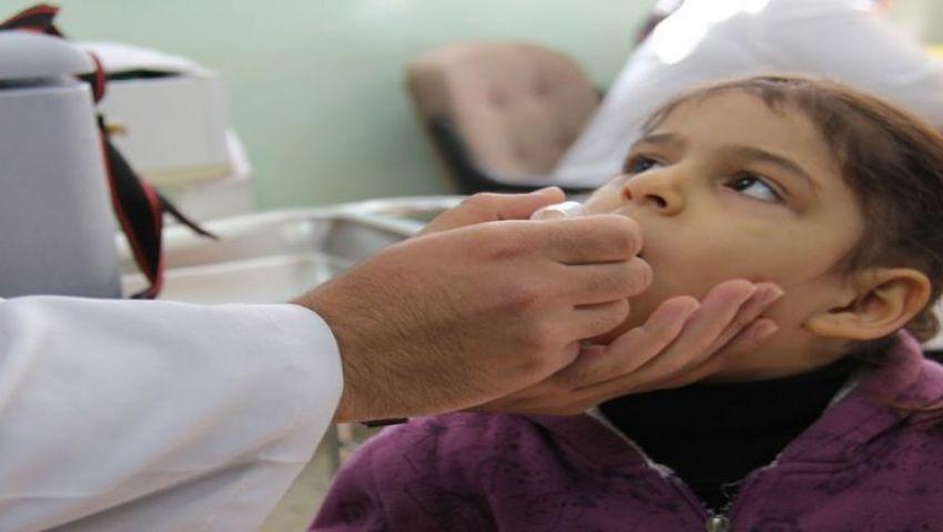 شاهد..الصحة: حملة تطعيم ضد شلل الأطفال بـ10 محافظات