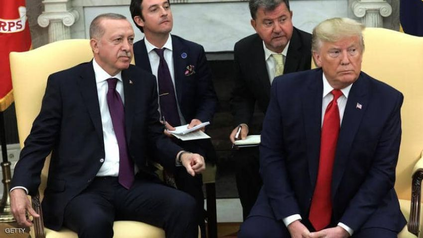 فيديو| وسط أجواء مشحونة.. ترامب يلتقي أردوغان في البيت الأبيض